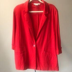 Red Blazer  Size 1X  NWOT